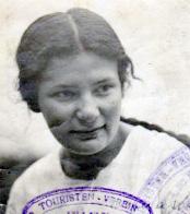 Abb.: Emma Nuschi Spira in jungen Jahren